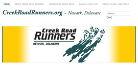Creek Road Runners web banner