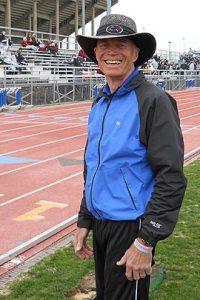 photo of Jim Fischer trackside