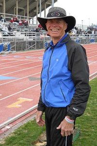 photo of Jim Fischer trackside