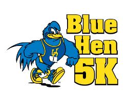 Blue Hen 5K logo