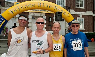 photo of Paul Amer, Mark Deshon, Bill Rose, and Stan Sandler