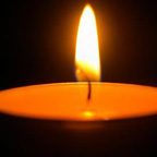 photo of votive candle
