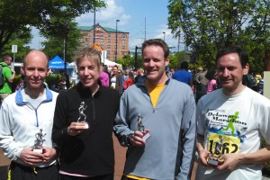 photo of Creek Road Runners relay team
