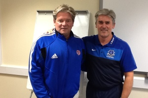 photo of Matt Robinson and Alan Irvine