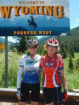 photo of Ann Jornlin and Gail Seitz