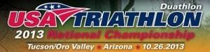 USA Duathlon/Triathlon 2013 National Championship graphic