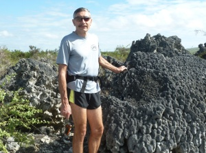photo of Dan Simmons in the Galapagos