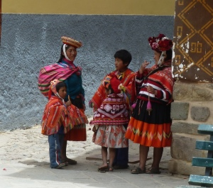 photo of native Peruvians