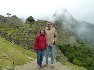 photo of Dan and Sue Simmons at Machu Picchu