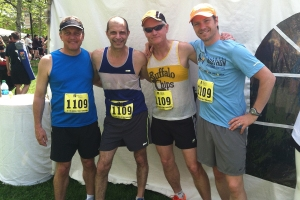 photo of Tripp Shenton, Jeremy Firestone, Vic Kaliakin, and Thomas Schumacher