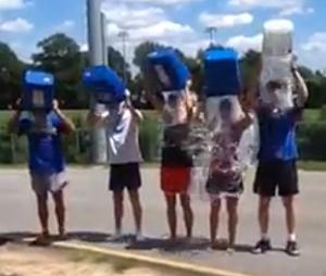 photo of CRR Ice Bucket Challenge