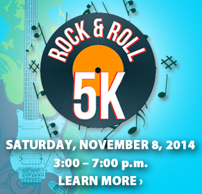 Rock & Roll 5K logo