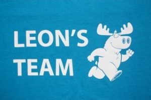 Leon's Team 5K shirt logo