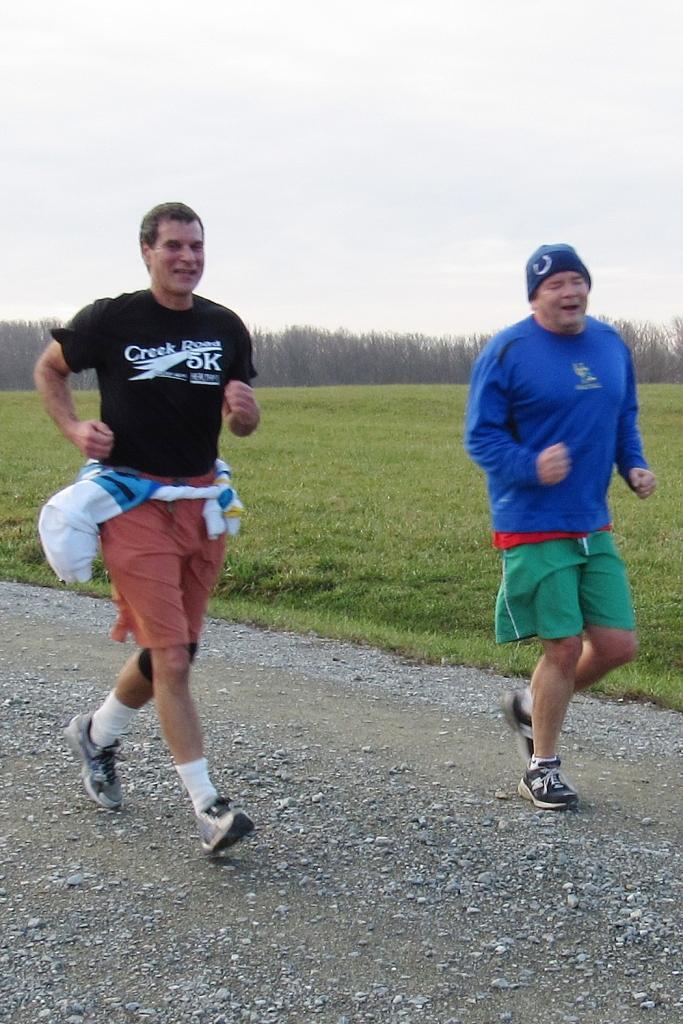 photo of Paul Amer and Matt Robinson