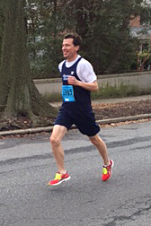 photo of Bruce Weber running the Big Day 5K