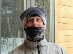 photo of Mark Deshon after sub-zero run