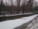 photo of peaceful, icy White Clay Creek