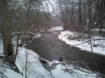 photo of snowy White Clay Creek