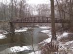 photo of Wedgewood Bridge in winter