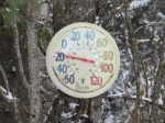 photo of thermometer reading -17°F