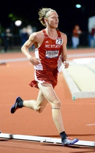 photo of Sam Parsons in the East Region 10K in Jacksonville, Fla.