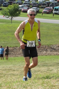photo of Doug Repetti at Top of Delaware Triathlon 2016