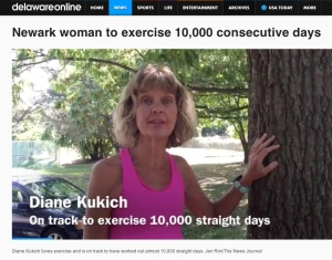 video screenshot of Diane Kukich from Wilmington News Journal