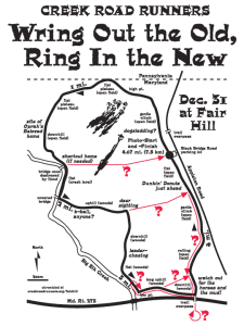 Fair Hill course map showing other routes taken 2016