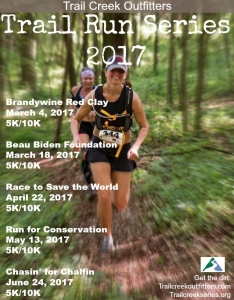 photo of cover of Trail Creek Series 2017 poster