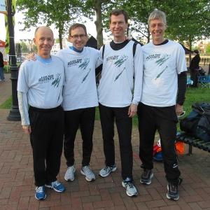 Creek Road Runners team 2017
