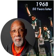 John Carlos photo collage