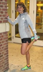 photo of Diane Kukich outside Carpenter Sports Building