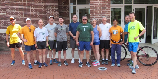 photo of Pusecker Farewell 5K participants