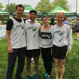 photo of 2019 CRR marathon relay team