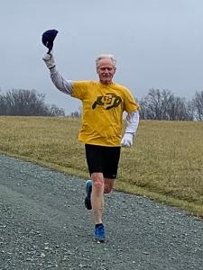 photo of Vic Kaliakin finishing