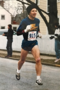 photo of Bob Bennett running