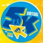 Blue Hen Virtual 5K and 1-mile Fun Run logo